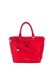 Michael Michael Kors Quilted Tote Bag Red