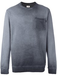 Vans Chest Pocket Sweatshirt Grey