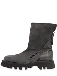 Bruno Bordese Zip Up Leather Boots