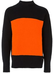 Diesel Front Square Jumper Black