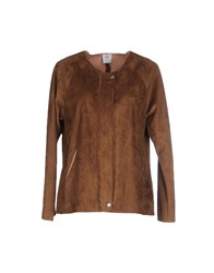 Please Coats And Jackets Jackets Women Brown