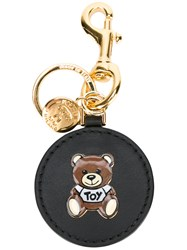 Moschino Teddy Bear Key Ring Black