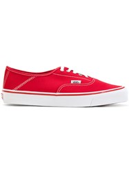 Alyx Vans Vault X Sneakers Unisex Cotton Rubber 5.5 Red