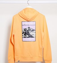 The North Face Faces Hoodie In Orange Exclusive At Asos