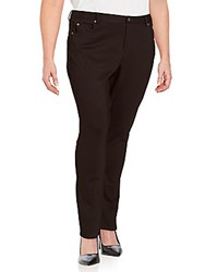 Vince Camuto Five Pocket Leggings Rich Black
