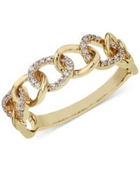 Macy's Diamond Link Band 1 8 Ct. T.W. In 14K Gold Or White Gold Yellow Gold