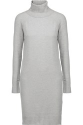 Line Lawrence Merino Wool And Cashmere Blend Dress Gray