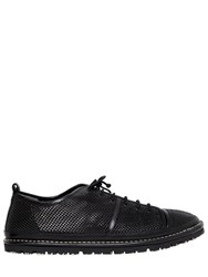Marsell Perforated Leather Sneakers