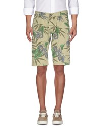 Macchia J Trousers Bermuda Shorts Military Green