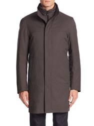 Sanyo Removable Down Liner Coat Charcoal