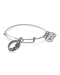 Alex And Ani Queen's Crown Expandable Wire Bangle Silver