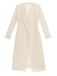 Emilia Wickstead Irune Textured Waves Coat