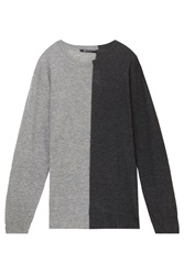 Alexander Wang Light Weight Two Tone Sweater