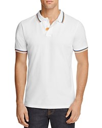 Sundek Brice Rainbow Regular Fit Polo Shirt White