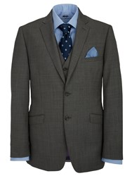 Paul Costelloe Castlemaine Grey Hopsack Suit Jacket