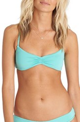 Billabong Women's Sol Searcher Bikini Top Pool Blue