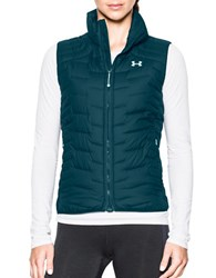 Under Armour Stand Collar Sleeveless Vest Teal