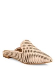 Frye Gwen Perforated Leather Mule Slides