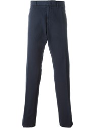 Z Zegna Chino Trousers Blue