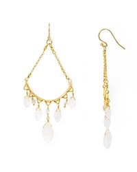 Chan Luu Beaded Drop Earrings Gold