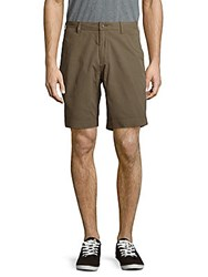 Lauren Ralph Lauren Pima Cotton Classic Fit Shorts Defender Green