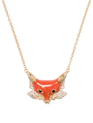 Kate Spade Into The Woods Fox Mini Pendant