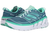 Hoka One One Conquest 2 Colonial Blue Mint Leaf Women's Running Shoes Green