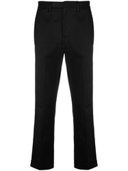 Z Zegna Slim Fit Chinos Black