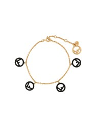 Fendi F Is Bracelet Gold