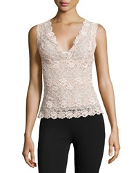 Josie Rose Parfait Lace Tank Top Nude