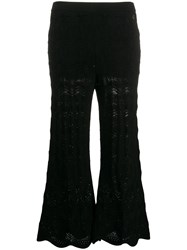 Twin Set Scalloped Lace Knitted Trousers 60