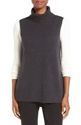Nordstrom Women's Collection Cashmere Turtleneck Vest