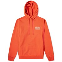 Martine Rose Seasonal Logo Popover Hoody Red