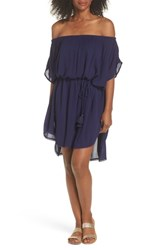 Echo Seaside Cover Up Dress Navy