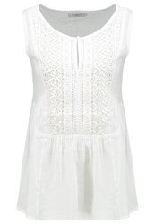 Soaked In Luxury Kaira Blouse White