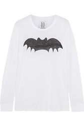 Zoe Karssen Bat Cotton And Modal Blend Top
