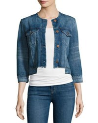 J Brand Catesby Denim Jacket Reform Indigo
