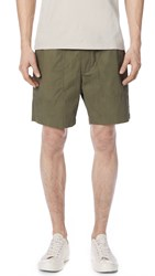 Vince Relaxed Fit Shorts Pine Needle