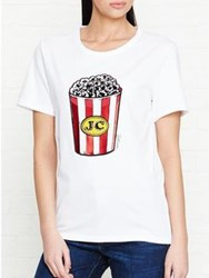 Just Cavalli Popcorn T Shirt White