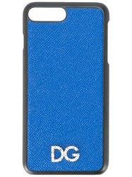 Dolce And Gabbana Iphone 8 Plus Case Blue