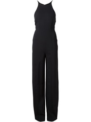 Narciso Rodriguez Open Back Jumpsuit Black