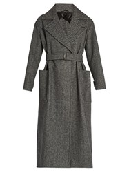 Max Mara Fiumana Coat Dark Grey