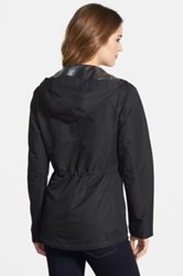 Vince Camuto Ripstop Front Zip Hooded Jacket Regular And Petite Black