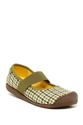 Keen Sienna Canvas Mary Jane Green