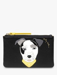 Radley And Friends Leather Small Zip Top Coin Purse Black Millie