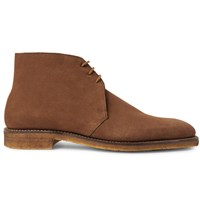 George Cleverley Suede Chukka Boots Brown