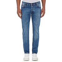 Isaia Men's Slim Jeans Light Blue