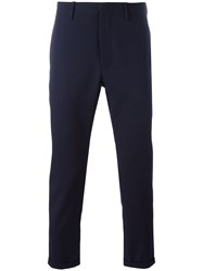 Marni Ankle Length Trousers Blue