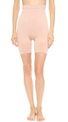 Spanx Slim Cognito High Waisted Mid Thigh Shaper Rose Gold