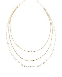 Lana Glam Sienna Multi Chain Necklace Gold